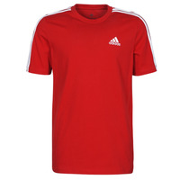 Clothing Men Short-sleeved t-shirts adidas Performance M 3S SJ T Red