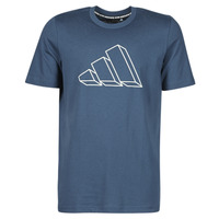 Clothing Men Short-sleeved t-shirts adidas Performance M FI GFX TEE Blue