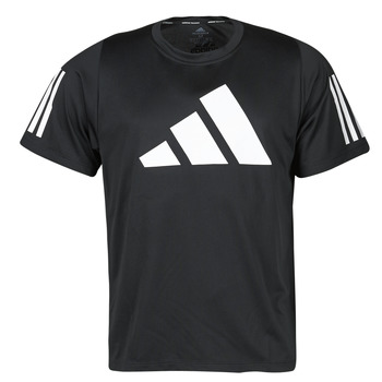 Clothing Men Short-sleeved t-shirts adidas Performance FL 3 BAR TEE Black