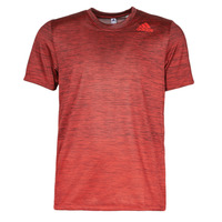 Clothing Men Short-sleeved t-shirts adidas Performance GRADIENT TEE Red