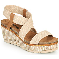 Shoes Women Sandals Refresh ERINA Beige