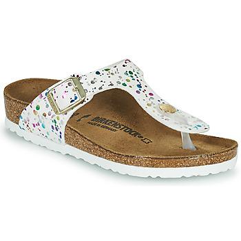 Shoes Girl Flip flops Birkenstock GIZEH White