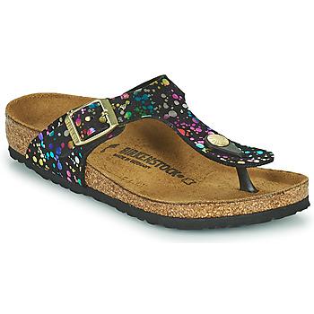 Shoes Girl Flip flops Birkenstock GIZEH Black