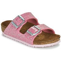 Shoes Girl Mules Birkenstock ARIZONA Pink