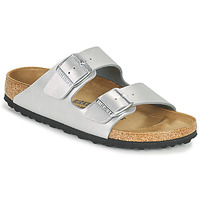 Shoes Women Mules Birkenstock ARIZONA Silver
