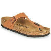 Shoes Women Flip flops Birkenstock GIZEH Brown