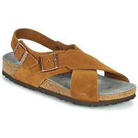 Shoes Women Sandals Birkenstock TULUM SFB Brown