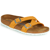 Shoes Women Mules Birkenstock YAO BALANCE SFB Orange