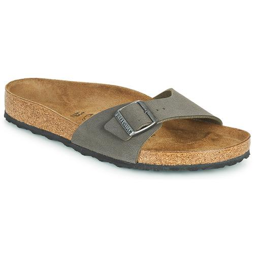 Shoes Men Mules Birkenstock MADRID Grey