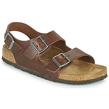 Shoes Men Sandals Birkenstock MILANO Brown