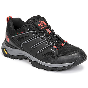 Shoes Women Walking shoes The North Face HEDGEHOG FUTURELIGHT Black / Red