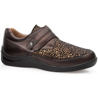 Shoes Women Derby Shoes & Brogues Calzamedi DIABETIC ELASTIC  SHOES BROWN