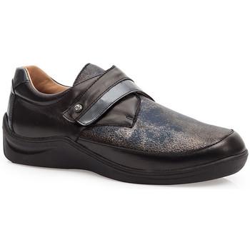 Shoes Women Derby Shoes & Brogues Calzamedi DIABETIC ELASTIC  SHOES BLACK_BLUE