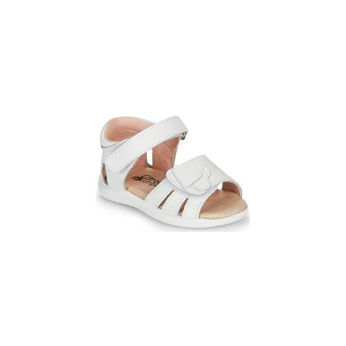 Shoes Girl Sandals Citrouille et Compagnie OLESS White