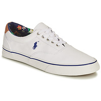 Shoes Men Low top trainers Polo Ralph Lauren THORTON-SNEAKERS-VULC White