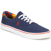 Shoes Men Low top trainers Polo Ralph Lauren THORTON-SNEAKERS-VULC Marine