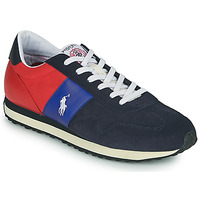 Shoes Men Low top trainers Polo Ralph Lauren TRAIN 85-SNEAKERS-ATHLETIC SHOE Marine / Red