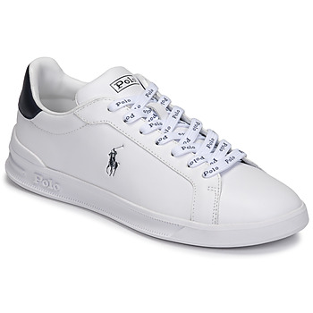 Shoes Low top trainers Polo Ralph Lauren HRT CT II-SNEAKERS-ATHLETIC SHOE White / Marine