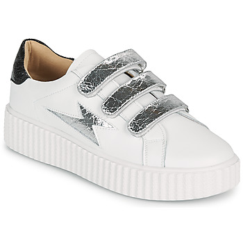 Shoes Women Low top trainers Vanessa Wu BK2231AG White / Silver
