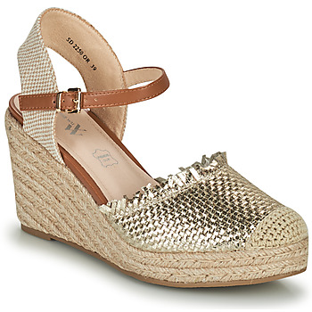 Shoes Women Sandals Vanessa Wu SD2250OR Gold
