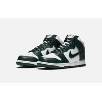 Shoes Hi top trainers Nike Dunk High Pro Green White / Pro Green