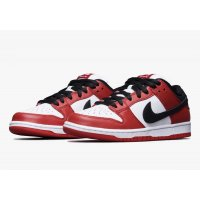 Shoes Low top trainers Nike SB Dunk Low Chicago Varsity Red/White-Black