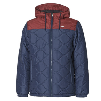 Clothing Men Jackets Vans MN WOODCREST II Blue