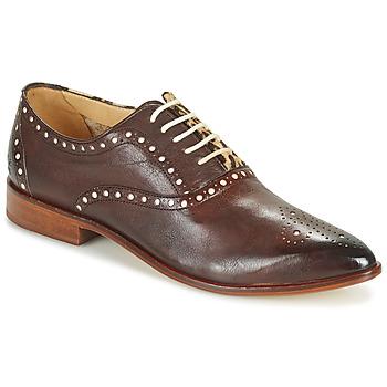 Shoes Women Derby Shoes Melvin & Hamilton JESSY 61 Brown