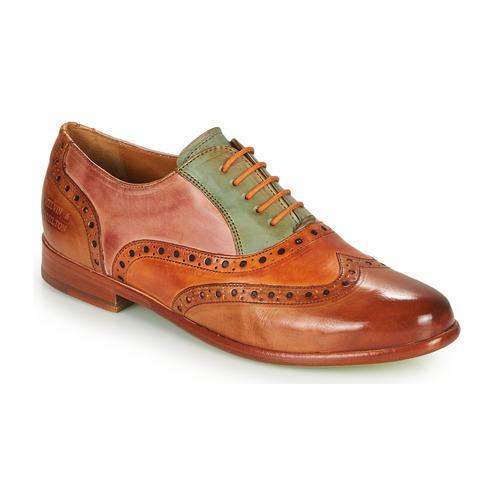 Shoes Women Derby Shoes Melvin & Hamilton SELINA 24 Brown