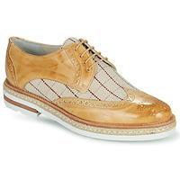 Shoes Women Derby Shoes Melvin & Hamilton AMELIE 3 Yellow