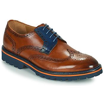 Shoes Men Derby Shoes Melvin & Hamilton MATTHEW 33 Brown