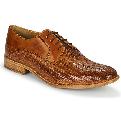 Shoes Men Brogues Melvin & Hamilton EDDY 8 Brown