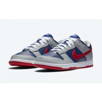 Shoes Low top trainers Nike Dunk Low Samba  Hyper Blue/Samba-Silver