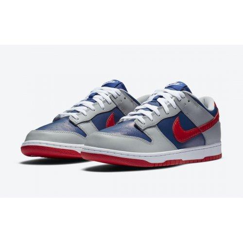 Shoes Low top trainers Nike Dunk Low Samba  Hyper Blue/Samba-Silver