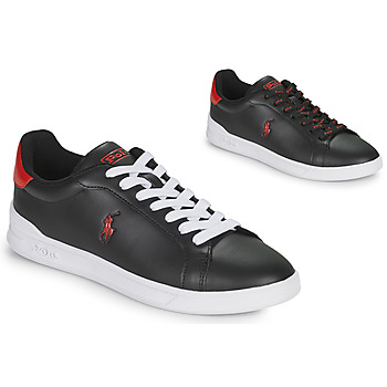 Shoes Low top trainers Polo Ralph Lauren HRT CT II-SNEAKERS-ATHLETIC SHOE Black
