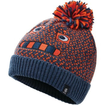 Clothes accessories Children Hats / Beanies / Bobble hats Dare 2b Boys' Brainstorm II Fleece Lined Knit Beanie Blue