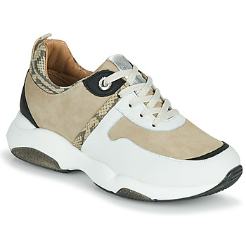 Shoes Women Low top trainers JB Martin WILO White