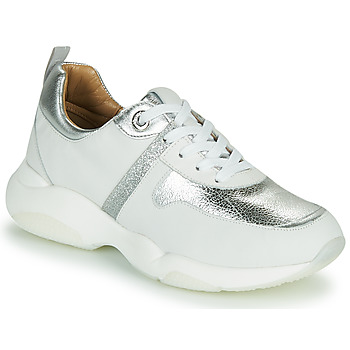 Shoes Women Low top trainers JB Martin WILO White / Silver