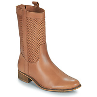 Shoes Women High boots Betty London ORYPE Cognac