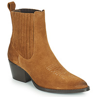Shoes Women Mid boots Betty London OSOYA Cognac