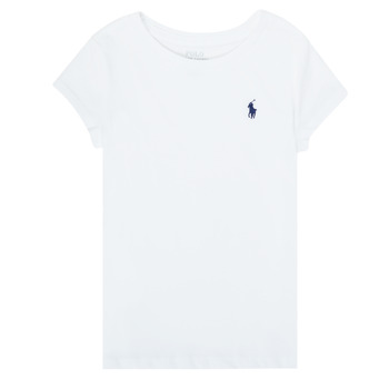Clothing Girl Short-sleeved t-shirts Polo Ralph Lauren ZALLIE White