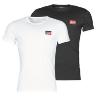 Clothing Men Short-sleeved t-shirts Levi's 2PK CREWNECK GRAPHIC White