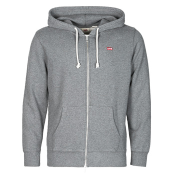 Clothing Men Sweaters Levi's NEW ORIGINAL ZIP UP Grey