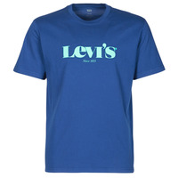 Clothing Men Short-sleeved t-shirts Levi's SS RELAXED FIT TEE Blue