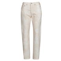 Clothing Women Boyfriend jeans Levi's 501 CROP Peach
