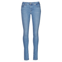 Clothing Women Skinny jeans Levi's 711 SKINNY Blue