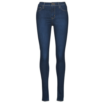 Clothing Women Skinny jeans Levi's 720 HIRISE SUPER SKINNY Blue