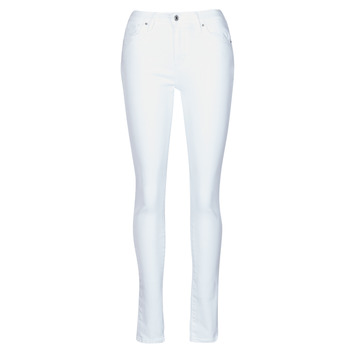 Clothing Women Skinny jeans Levi's 721 HIGH RISE SKINNY White