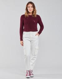 Clothing Women Cargo trousers Levi's LOOSE CARGO Beige