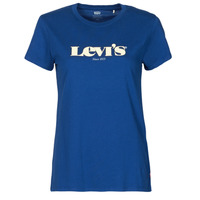 Clothing Women Short-sleeved t-shirts Levi's THE PERFECT TEE Blue
